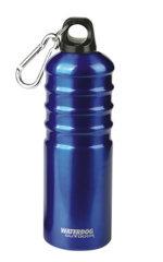 Botella Aluminio Con Mosquetón 750 Ml BLUE Waterdog