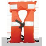 Chaleco Aprobado PNA poncho con cintas reflectivas Aquafloat