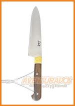 Cuchillo CAZA CHICO Modelo X acero inoxidable 2 mm ARTESANAL