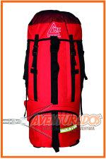Mochila Tronador 80 Lts (con flejes de aluminio y bolsillos extensibles) Campinox
