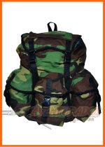 Mochila Comando 45 Lts Camuflada VERDE MILITAR Ideal cazadores Campinox