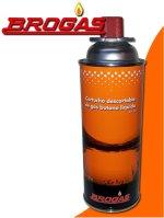 Cartucho de Gas butano - aerosol - 227 grs. Brogas