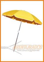 Sombrilla de playa de aluminio 2 mts REFORZADA Nahuel