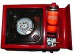 Anafe con valija 1 hornalla - Encendido eléctrico para gas butano FOCO