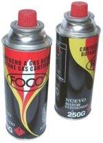 Cartucho de Gas butano - aerosol - 250 grs. FOCO