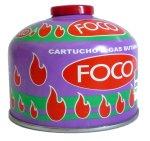 Cartucho de Gas butano - a rosca - 230 grs. FOCO