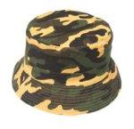 Sombrero chambergo de corderoy Camuflado