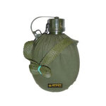 Cantimplora con funda verde 1 Litro Spinit