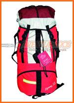 Mochila Lipang 55 (con flejes de aluminio y mochila de ataque) Campinox