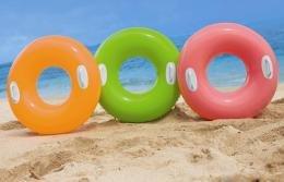 Salvavidas inflable flotador con agarraderas intex for Piletas inflables intex precios